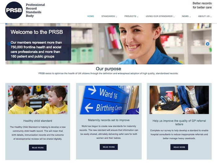 PRSB launches new website