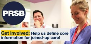 Take our survey! Help us define core information for joined-up care!