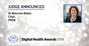 Professor Maureen Baker to judge Digital Health Awards