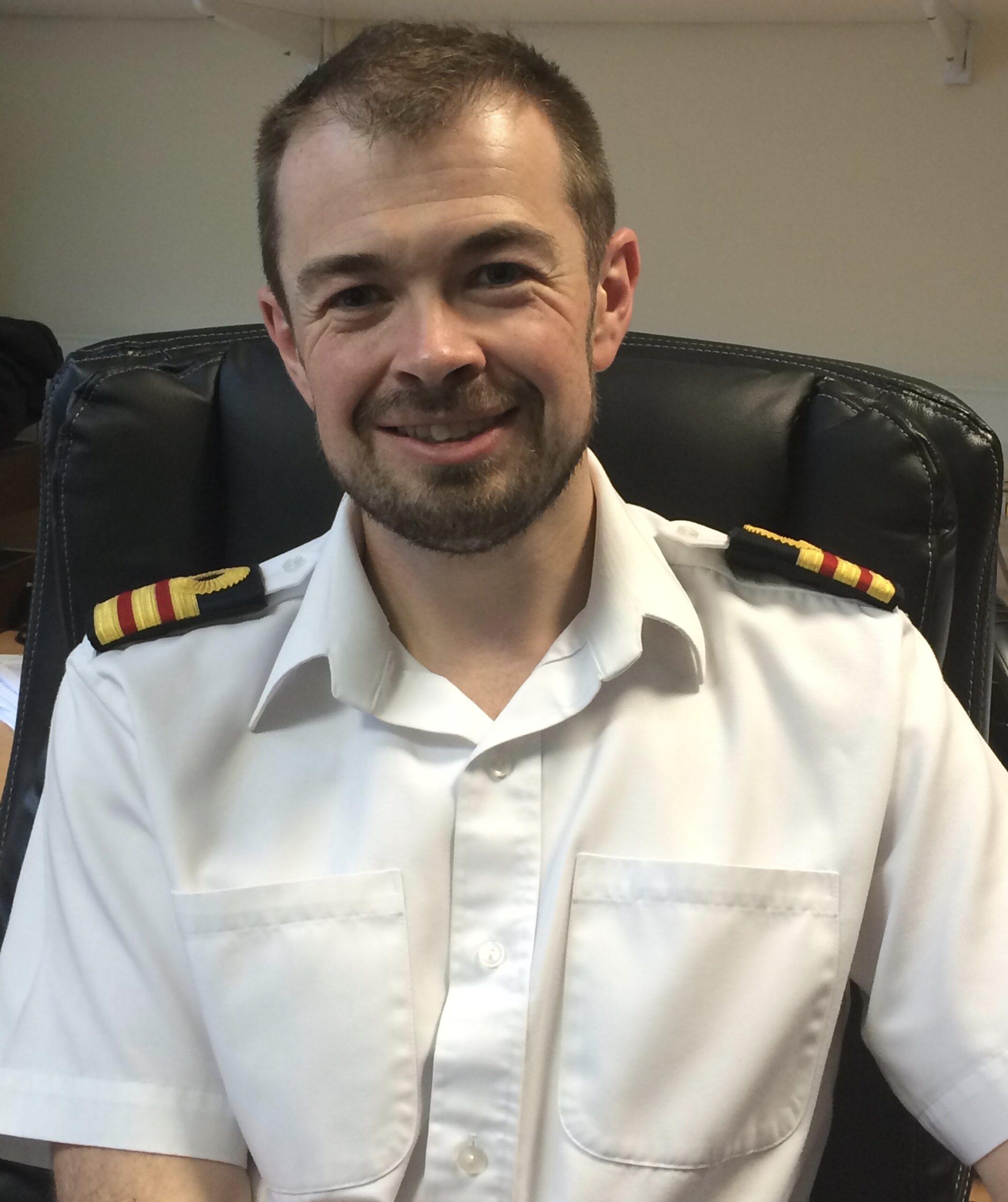 Surgeon Commander Dan Henning
